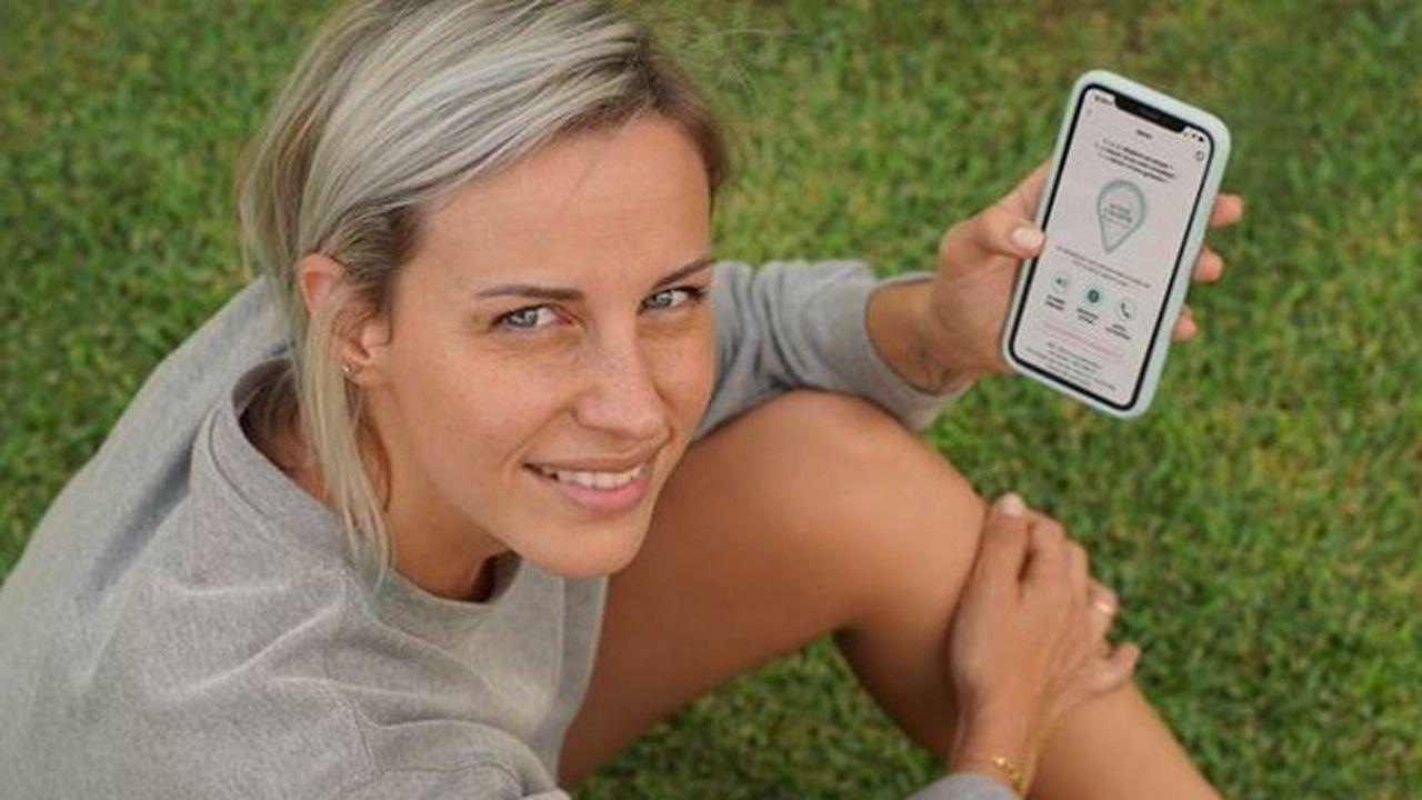 Priscillia Routier Trillard a créé l'application The Sorority, qui vise à favoriser l'entraide entre les femmes.