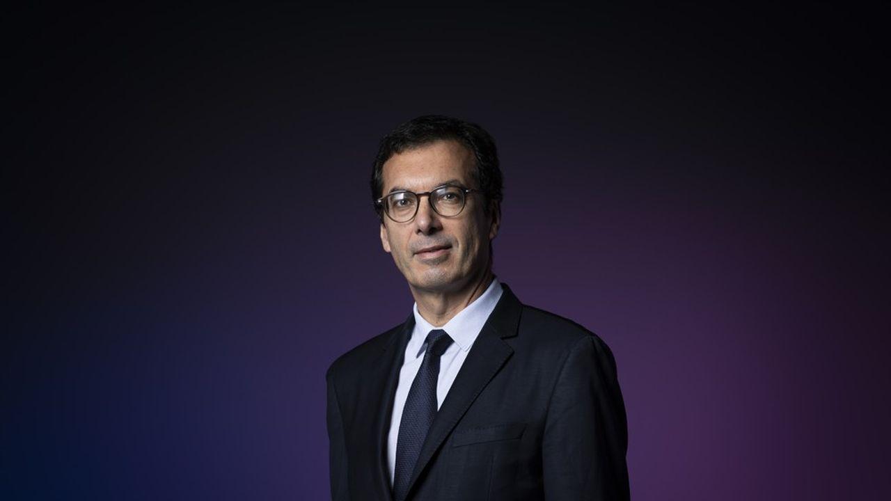 Jean-Pierre Farandou a succédé à Guillaume Pepy en novembre2019.