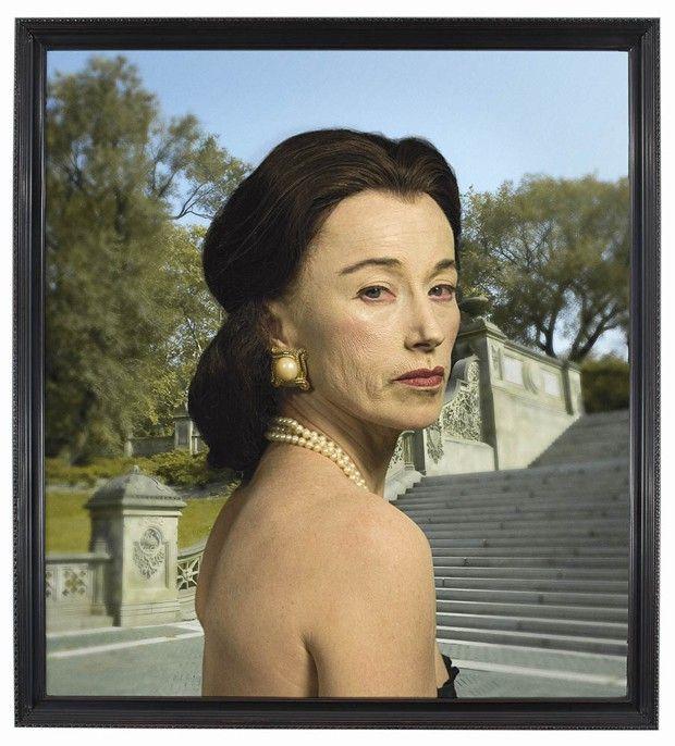 Cindy Sherman, Untitled #465 (« Society Portraits », 2008).