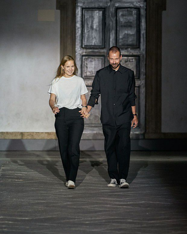 Lucie et Luke Meier président au style de Jil Sander depuis 2017