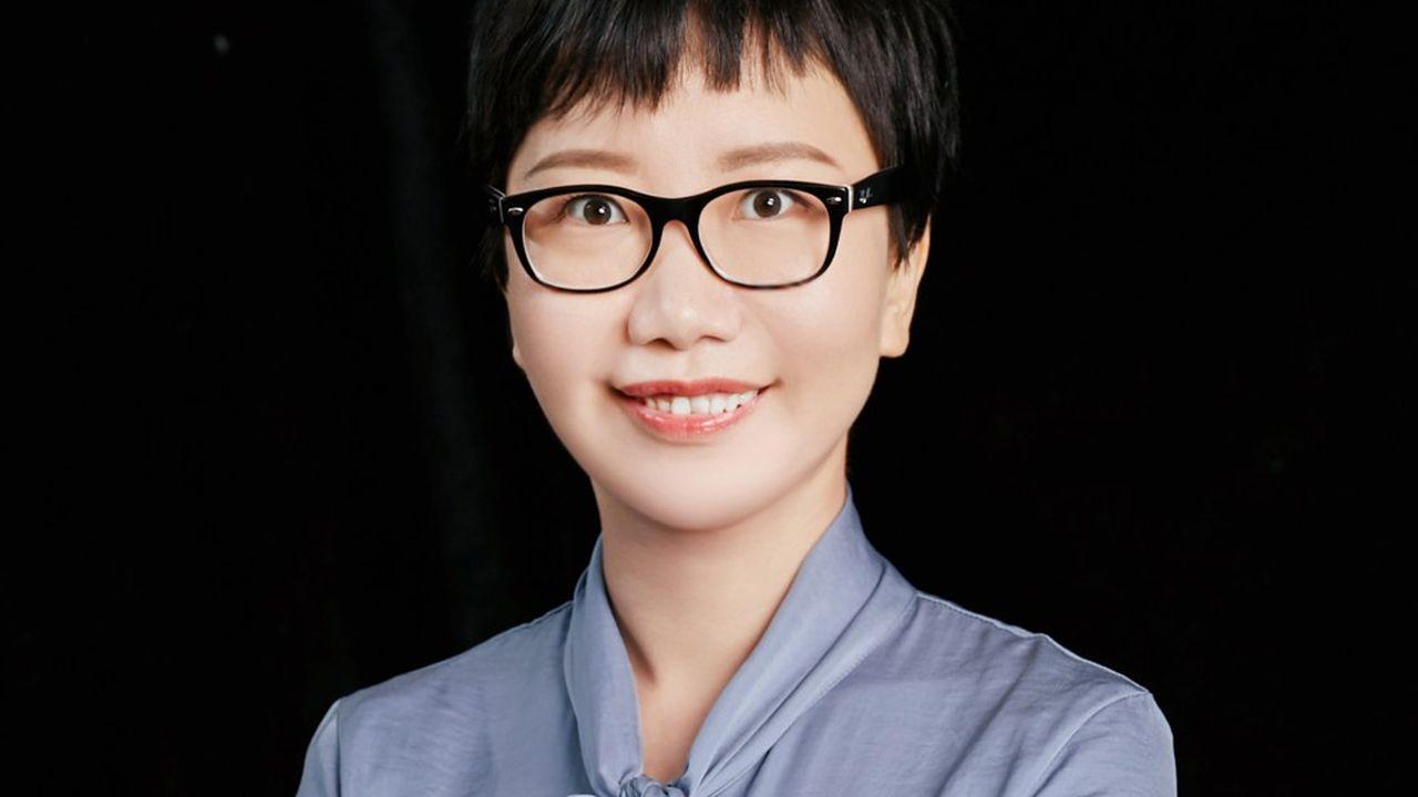 Linda Han, responsable des affaires publiques France de Huawei.