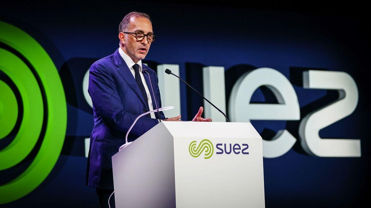 Jean-Marc Boursier est directeur général adjoint de Suez, en charge de la France et des opérations.