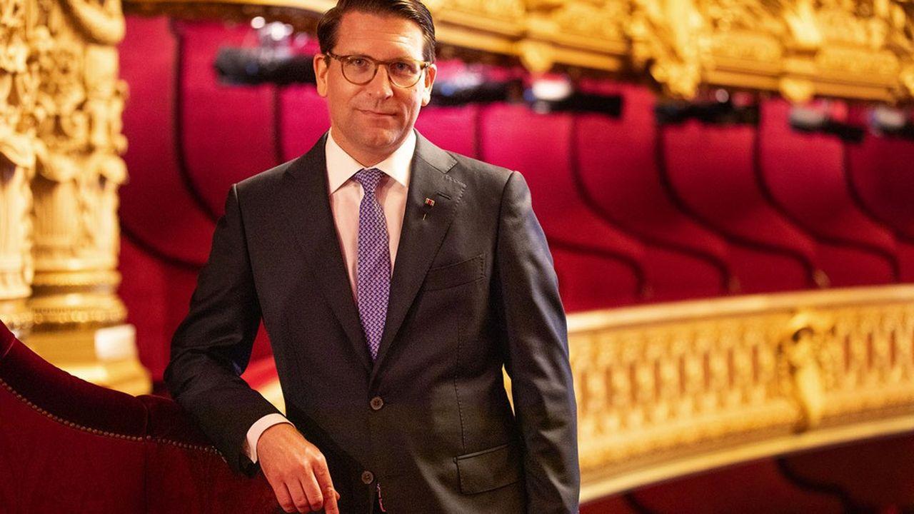 Alexander Neef, directeur de l'Opéra national de Paris.