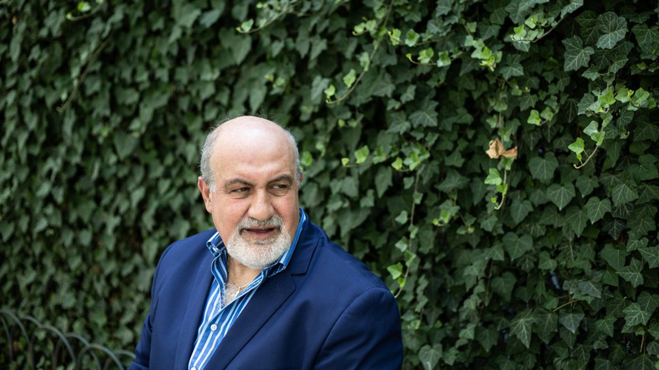 Nassim Nicholas Taleb, écrivain, statisticien et essayiste, professeur d'ingénierie du risque à l'Institut polytechnique de l'université de New York.