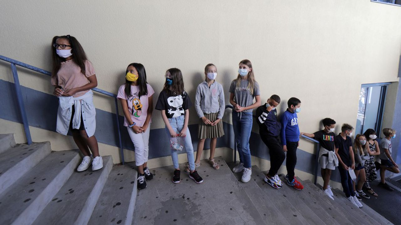 Le protocole sanitaire des écoles va être assoupli.
