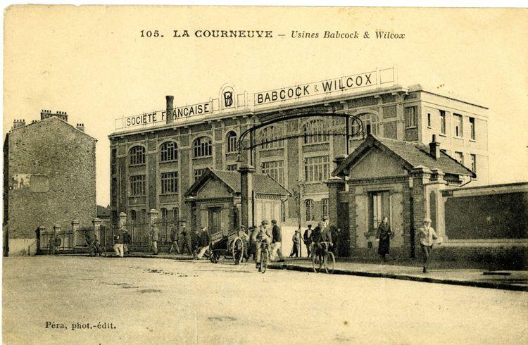 Usines Babcock et Wilcox en 1929.