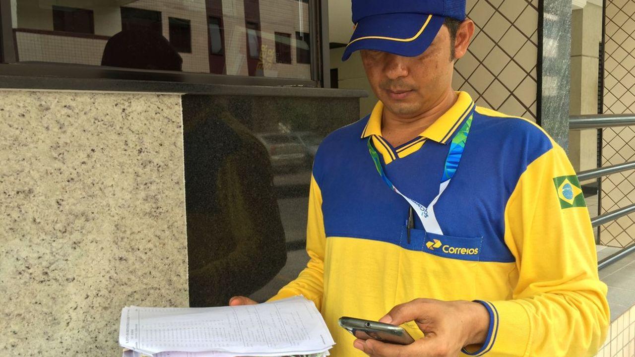 Le vaste réseau de Correios couvre l'ensemble du territoire brésilien, avec ses 6.500 agences.