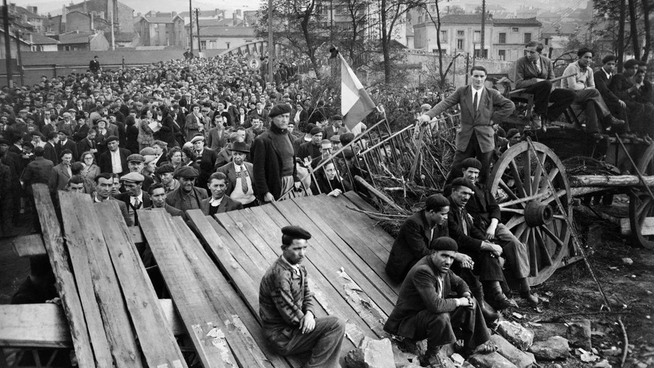 La grève des mineurs de 1948 a souvent été présentée comme le point de départ de la guerre froide en France.
