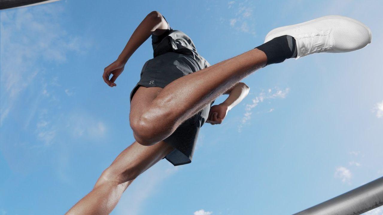 La Cyclon d'On Running sera à la fois une chaussure entièrement recyclable et disponible uniquement sur abonnement, avec un renouvellement des paires tous les six à neuf mois.