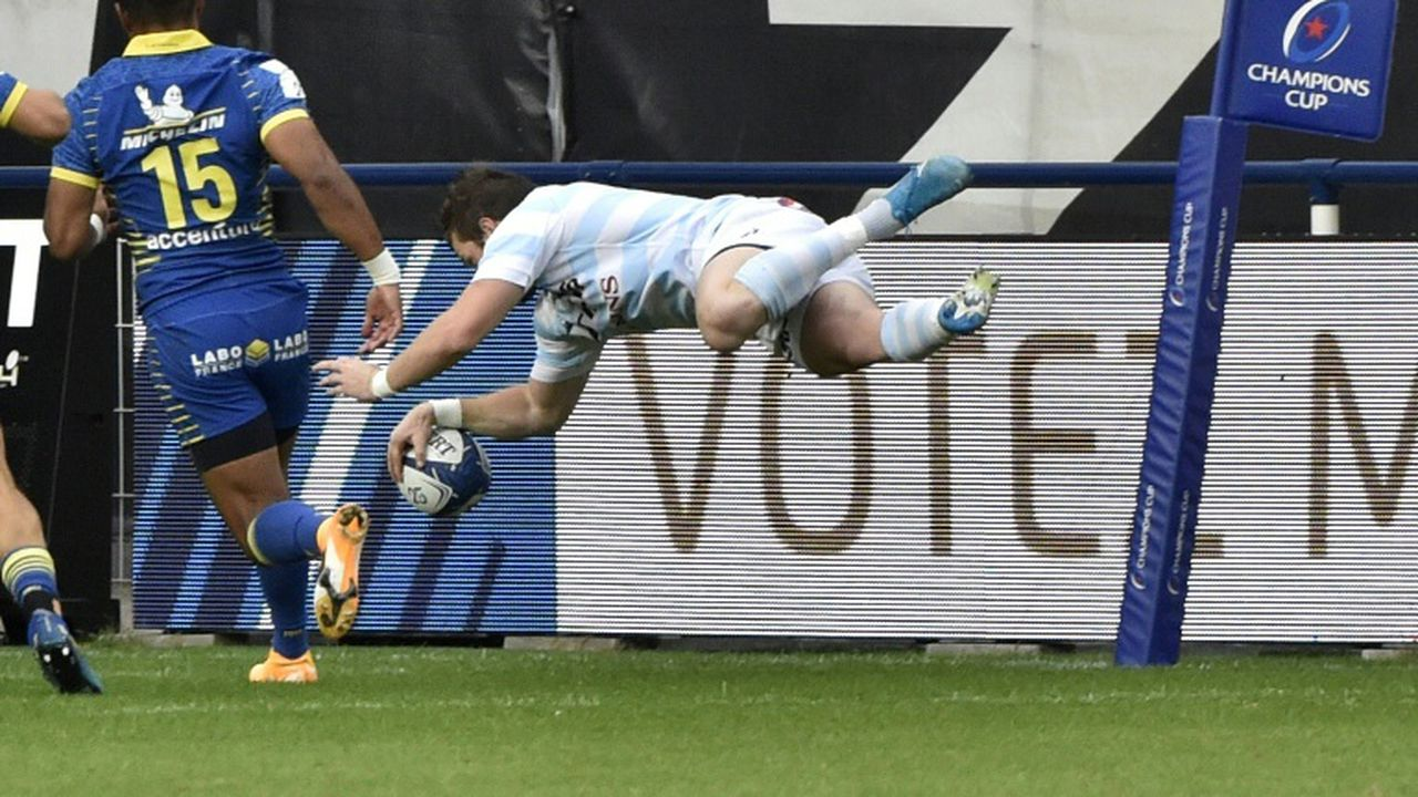 Coupe d'Europe de rugby: le Racing 92 croque Clermont et les Saracens