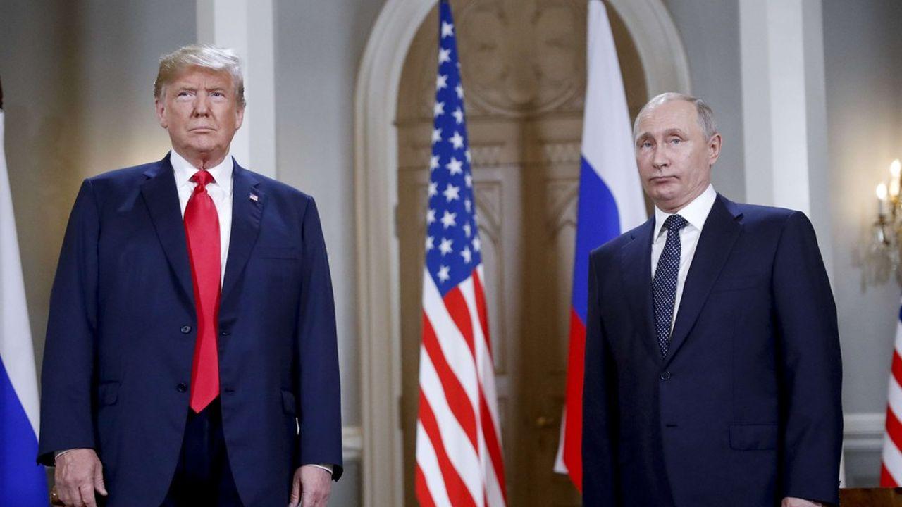 La Russie de Vladimir Poutine est montrée du doigt pour son rôle dans la campagne américaine.