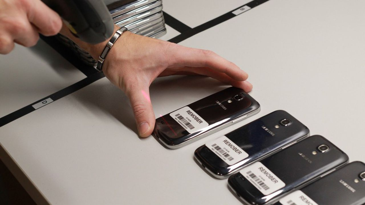 L'entreprise répare 1.000smartphones par mois et gère une flotte de 350.000 appareils.