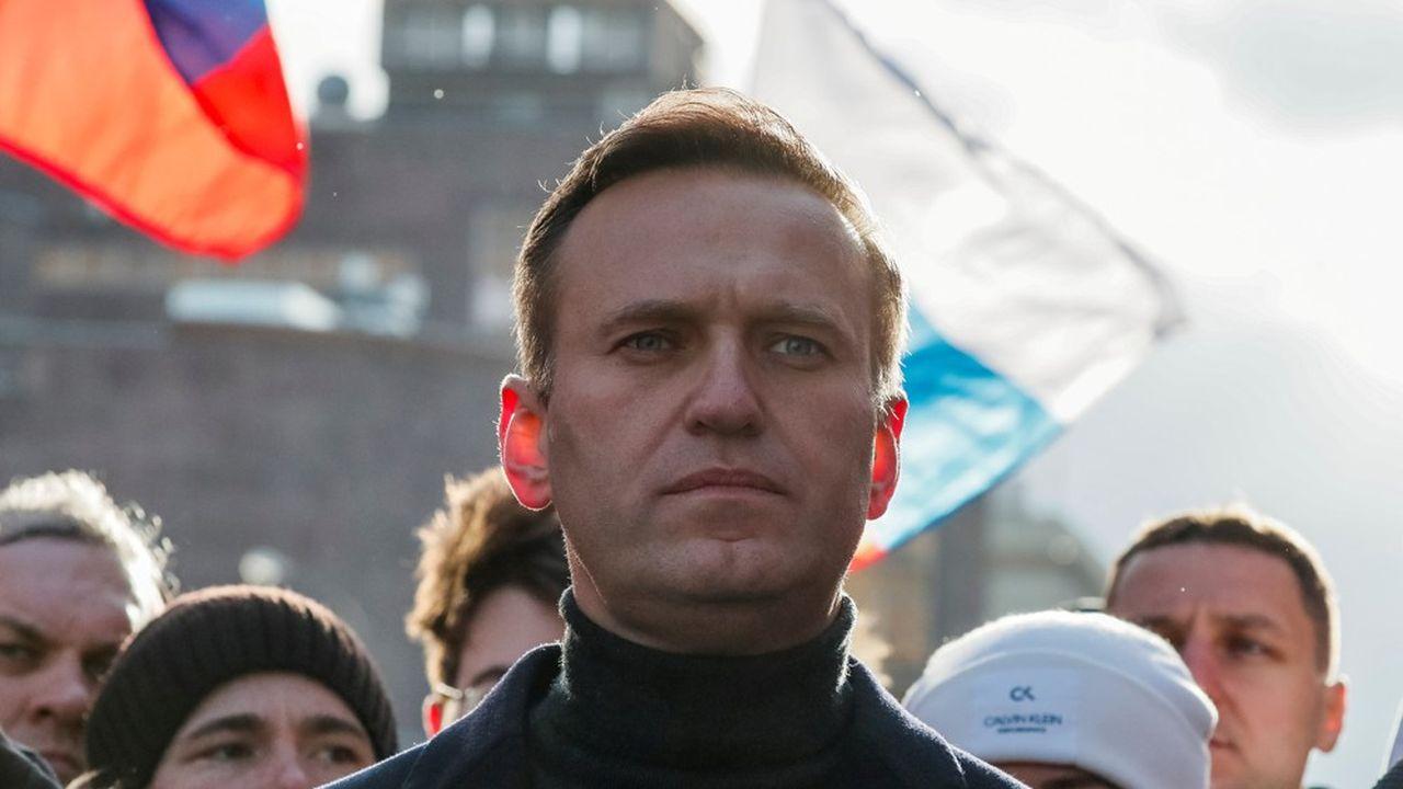 Alexei Navalny, Février 2020.