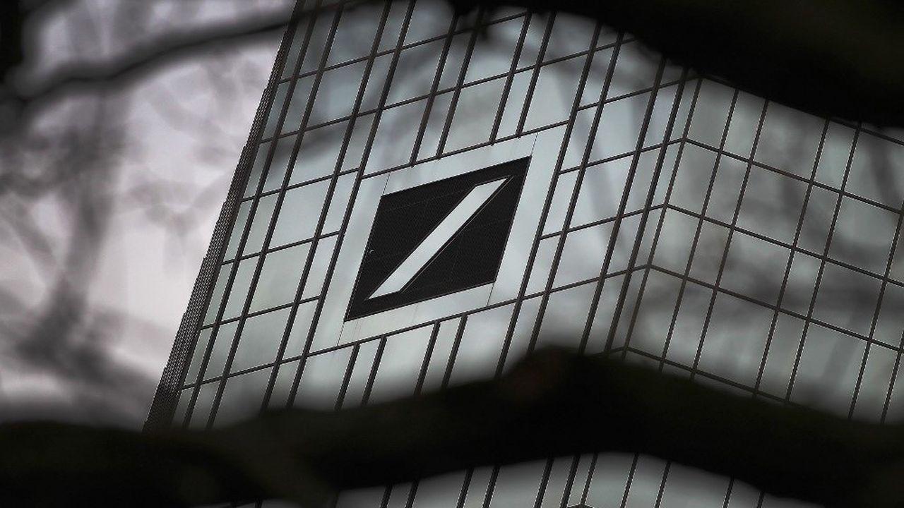 La Deutsche Bank fait partie des banques impliquées, selon l'enquête.