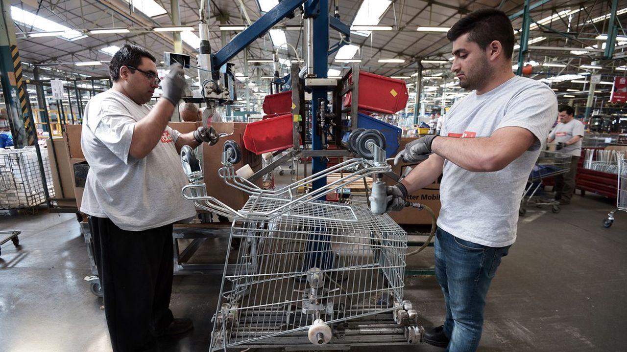 Des employés de l'usine de Drusenheim, en 2015.