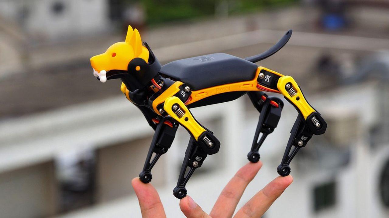 Le robot Petoi Bittle tient dans la main et ne coûtera que quelques dizaines de dollars.