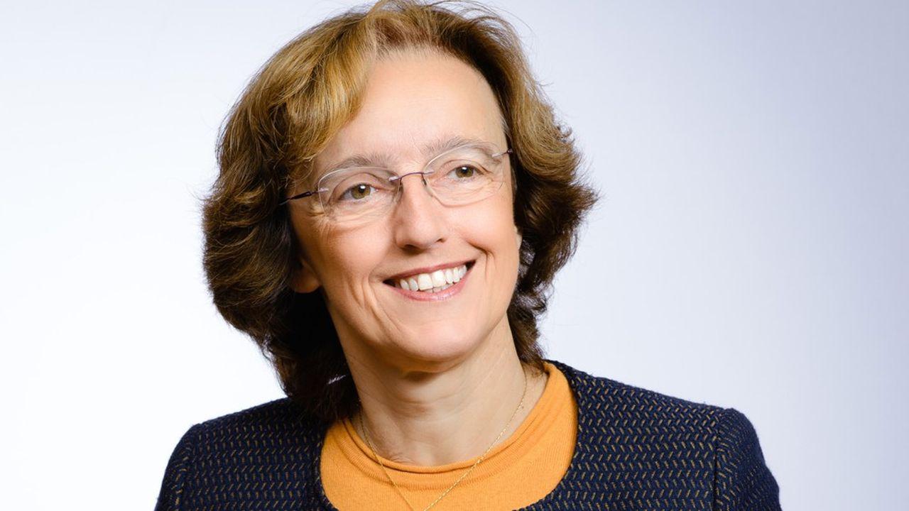 Claire Pedini, directrice générale adjointe, ressources humaines et transformation digitale du groupe Saint-Gobain.