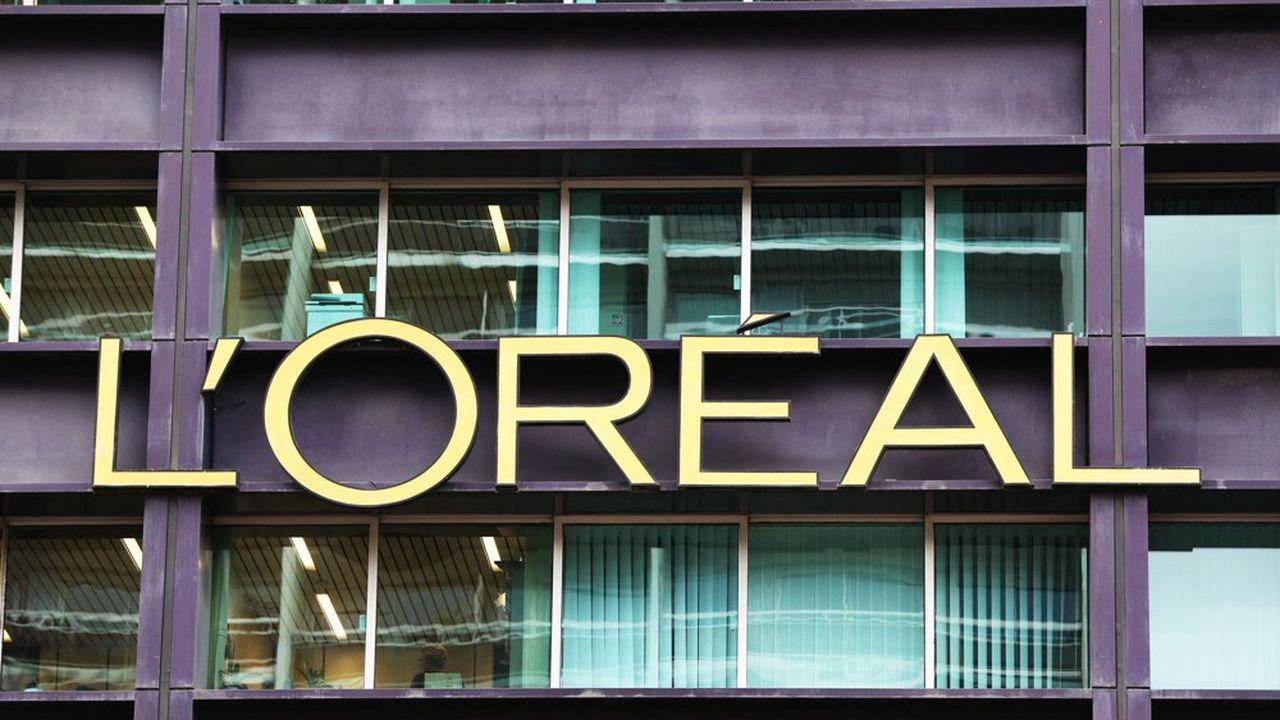 Siège social de L'Oréal à Clichy ( Hauts-de-Seine)