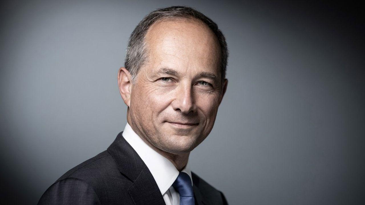 Frédéric Oudéa, directeur général du groupe Société Générale (Photo by JOEL SAGET / AFP)