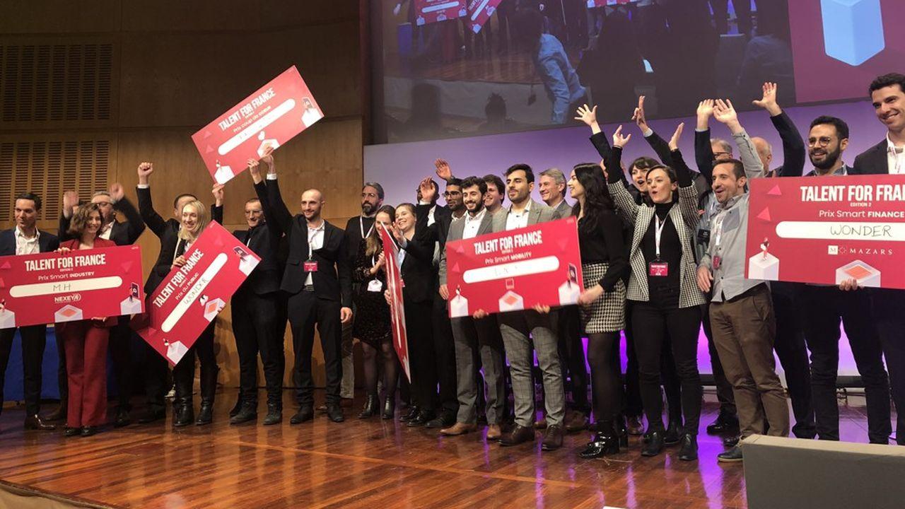 La 'photo finish' de Talent for France!
