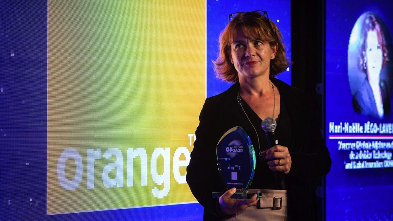 « L'enjeu est, dans chaque activité de l'entreprise, d'identifier des cas d'usage très concrets, dans une démarche d'amélioration continue », assure Mari-Noëlle Jégo-Laveissiere,directrice de l'innovation d'Orange.