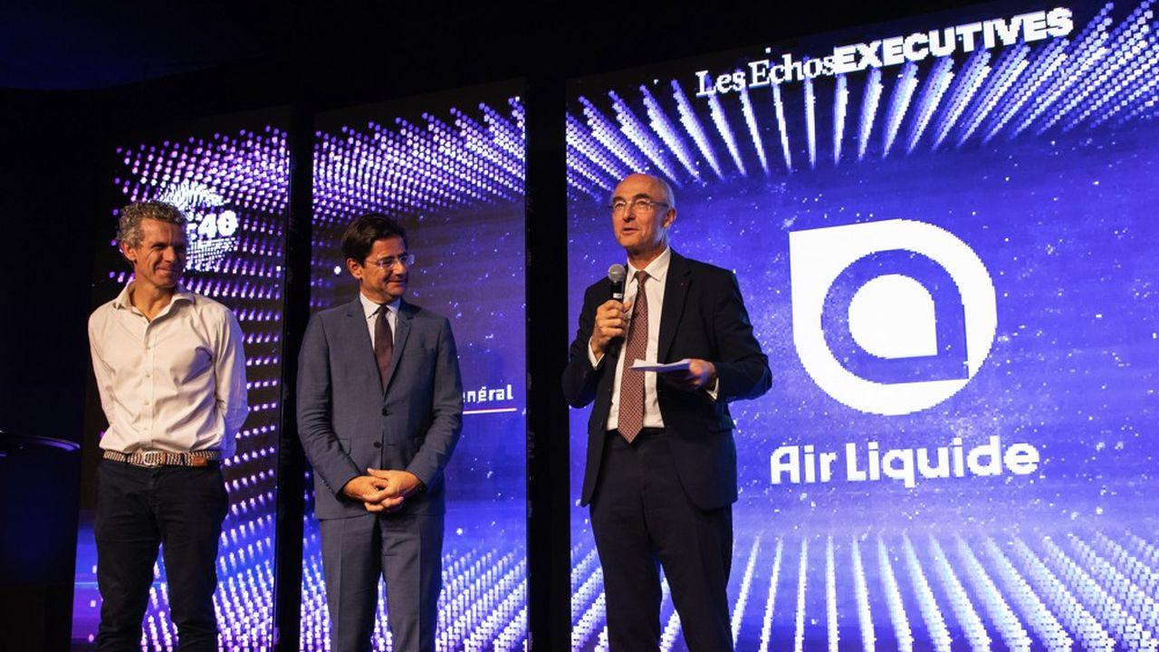 Air Liquide a franchi un cap dans sa transformation digitale, et rafle du même coup la première place du classement eCAC40 2019.