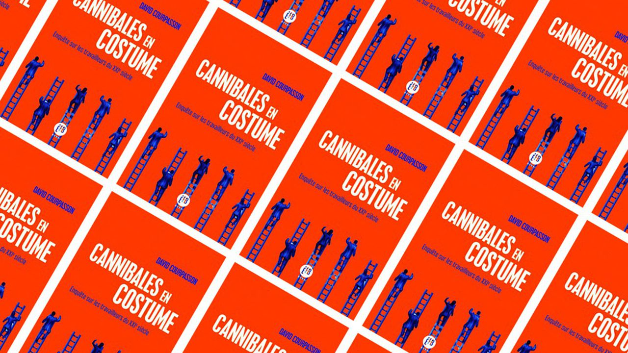 «Cannibales en costume »  par David Courpasson publié aux éditions François Bourin.