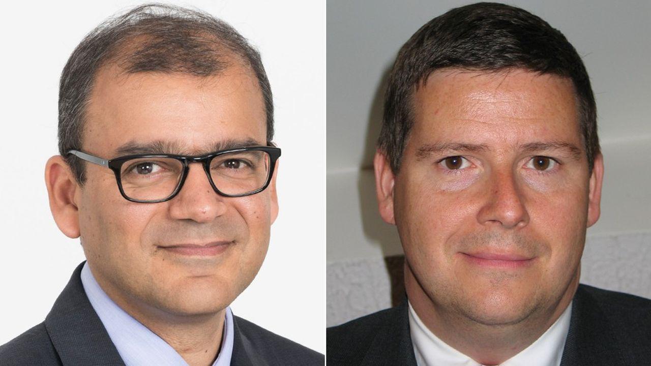 François Farmine, associé en droit du travail chez Clifford Chance, et Marc Milward, manager de transition.