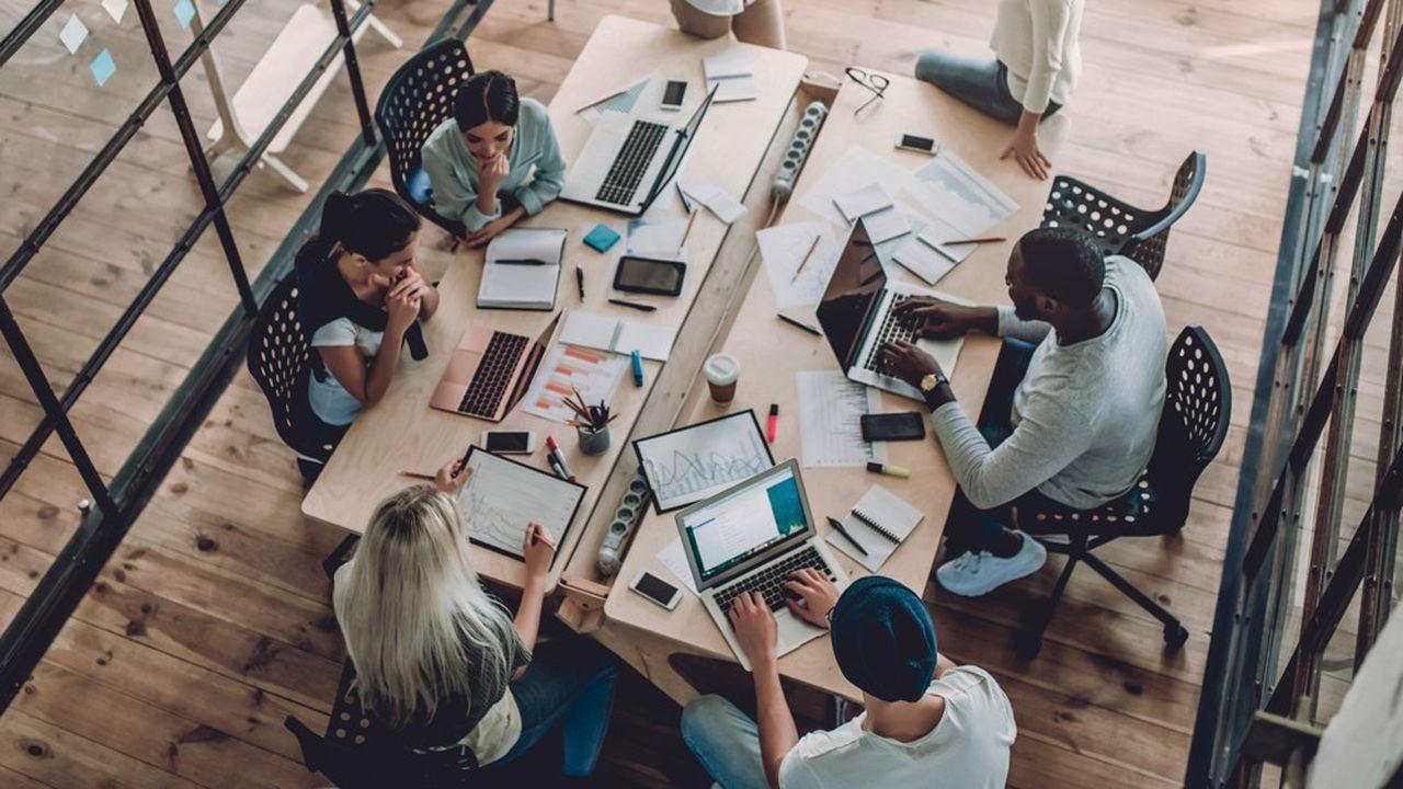 Pour les start-up, l'intérêt est avant tout d'augmenter leur chiffre d'affaires.