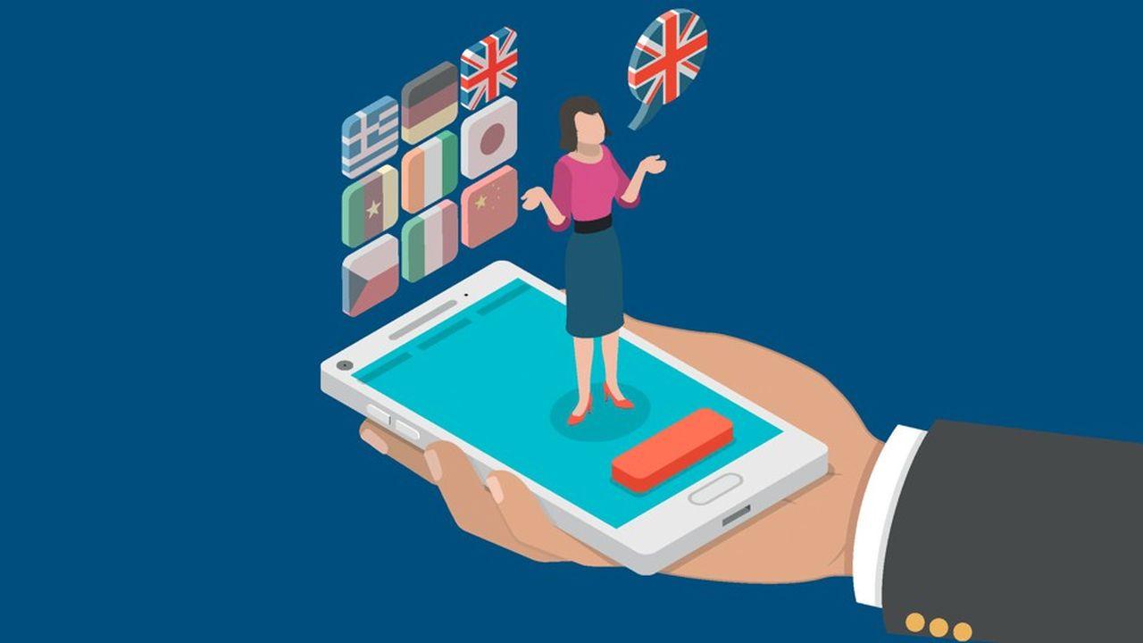Les entreprises voient à moyen terme et les salariés leur propre intérêt, lorsqu'il s'agit de formations aux langues étrangères.