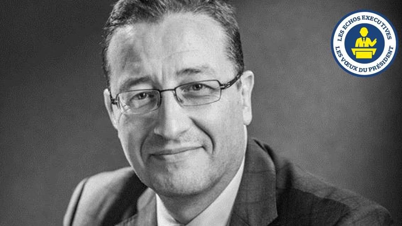 Christophe Zaniewski, le directeur général d'AIG en France, formule des souhaits de stabilité et de prospérité pour 2019.