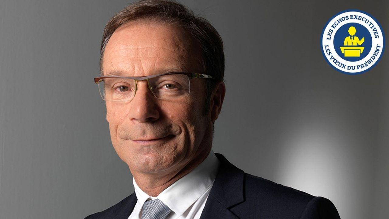 Pour 2019, Pierre-Yves Dréan, directeur général de la Banque Palatine, en appelle à l'abaissement de la fiscalité française sur les cessions/transmissions au même niveau qu'en Allemagne