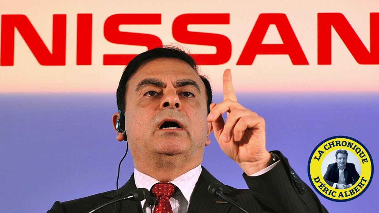 Le plus étonnant est que la façon dont Carlos Ghosn est devenu célèbre _ en redressant Nissan en 1999 _ est exactement à l'inverse de ce qu'on lui reproche aujourd'hui.
