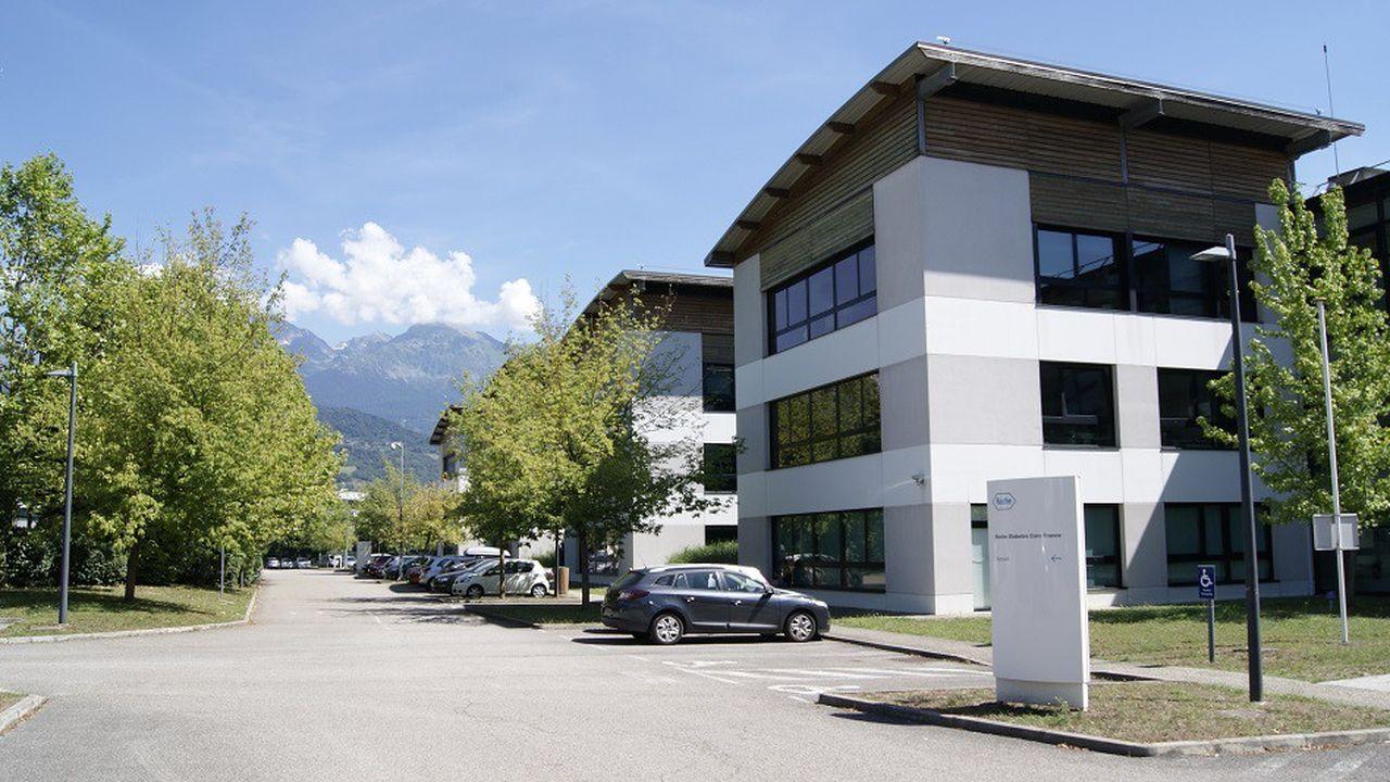 Le siège social de Roche Diabetes Care France se trouve à Montbonnot, en Isère.