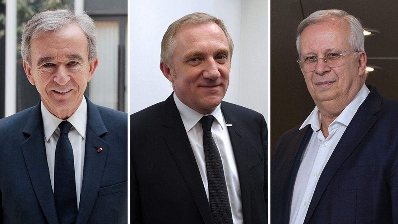 Bernard Arnault, PDG de LVMH (propriétaire des « Echos »), François-Henri Pinault, PDG de Kering, et Jacques Aschenbroich, PDG de Valeo, sont les trois premiers patrons français du classement 2018 des meilleurs CEO établi par la « Harvard Business Review »