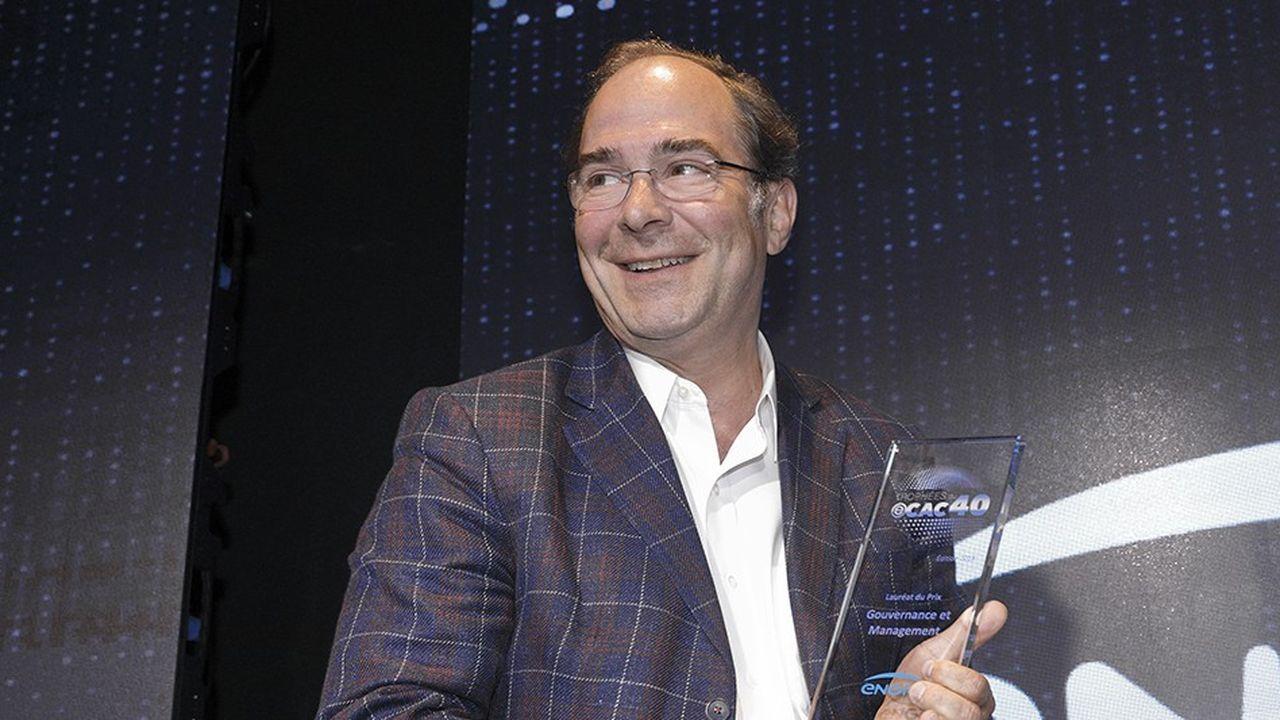 Yves Le Gélard, DGA, chief information et chief digital officer d'Engie, a souligné que l'ambition du groupe était d'être une data driven company.