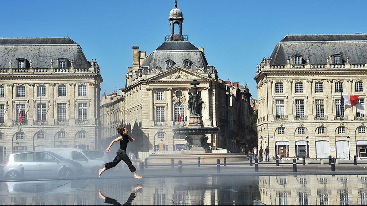 Bordeaux figure en tête du classement des villes les plus appréciées par les cadres parisiens.