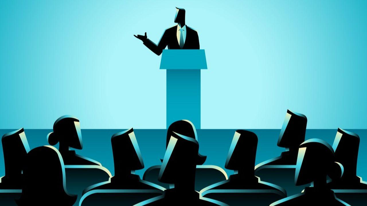 Celui qui montre un esprit brillant et clair à l'occasion d'une présentation peut marquer des points décisifs lors des prochaines nominations.