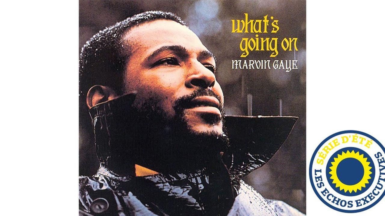 «What's going on» de Marvin Gaye sera le plus grand succès de l'histoire de la Motown avec plus de 2millions d'albums vendus en moins de 2 ans.
