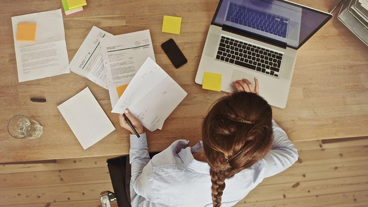 43 % des salariés qui devraient poser un arrêt de travail ne le font pas.