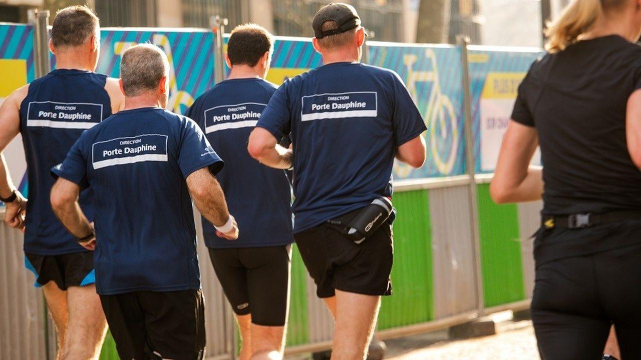 Ils étaient 500 salariés à composer la «running team» de l'entreprise pour la précédente édition de la course Schneider Electric Marathon.