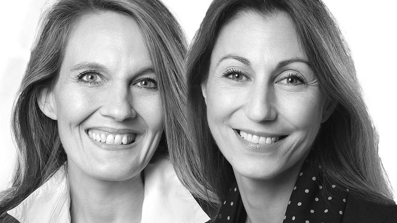 « Nos clients nous demandent des cadres dirigeants qui savent gérer l'incertitude (...) et travailler sur l'intelligence collective », expliquent les chasseuses de tête Anne Chevillotte (à gauche) et Olivia Langlois (à droite), chez Transearch.
