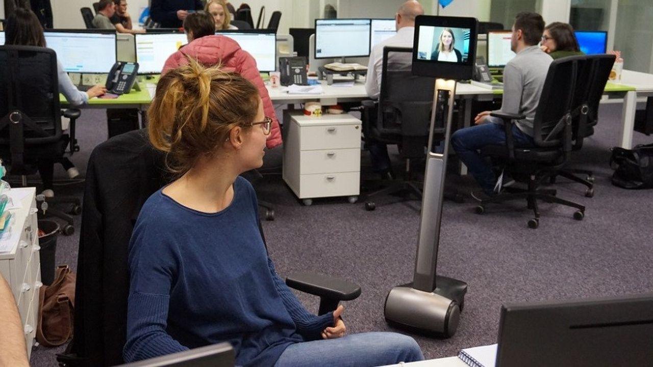 Un robot pour vous remplacer au bureau