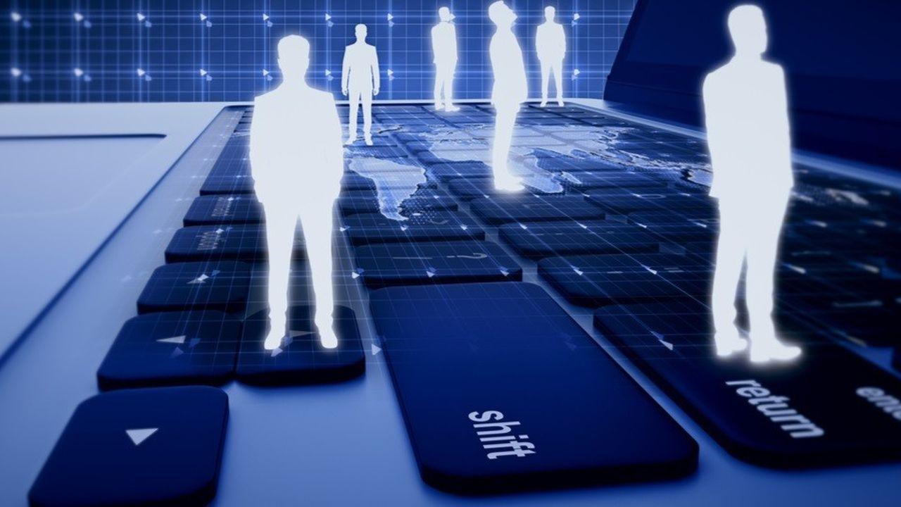 Un tiers des sondés pensent que l'intelligence artificielle peut permettre une meilleure reconversion professionnelle.