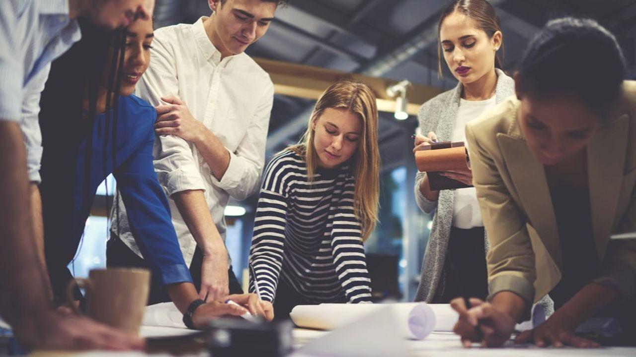 Seuls 25% des jeunes diplômés 2017 souhaitent intégrer un grand groupe, selon Accenture.