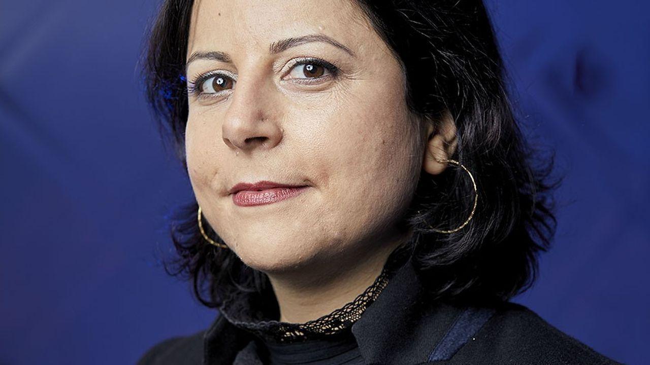 Frédérique Chemaly : Directrice des ressources humaines de la branche grands magasins des Galeries Lafayette AWARDS NEXT LEADERS LES ECHOS 28 NOVEMBRE 2017