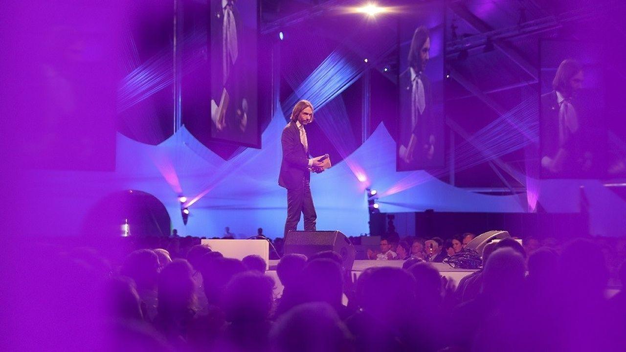 L'APM célèbre ses trente ans à Bordeaux sous le signe de l'avenir. Cédric Villani était l'un des intervenants de cette 21è convention sur le thème«Visages du futur ».