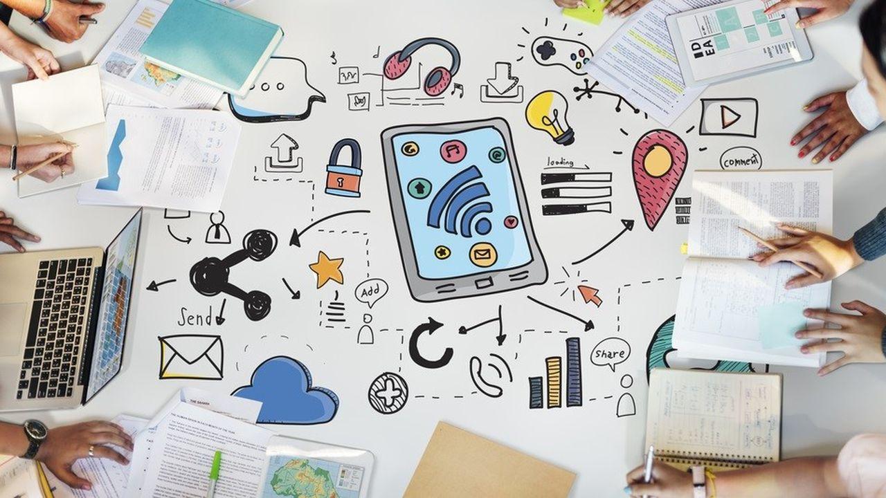 Au total, 40% des dirigeants interrogés dans le monde affirment que la culture numérique est très développée dans leur entreprise, contre 27% des salariés