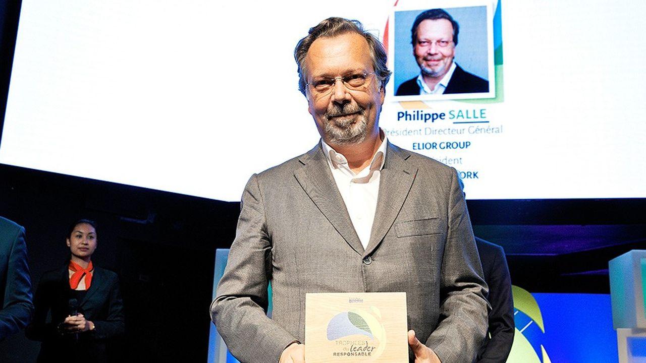 Philippe Salle, président de Cancer@Work et PDG d'Elior Group.