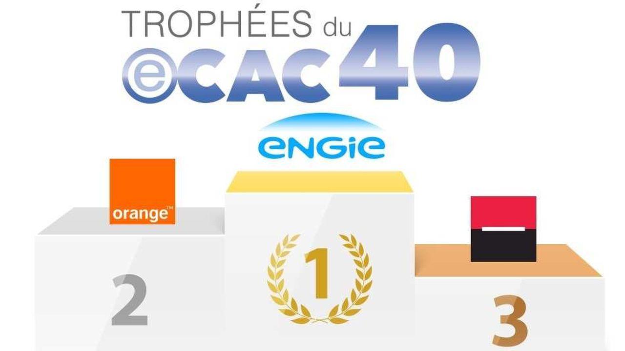 Engie, Orange et Société Générale viennent de remporter un trophée eCAC40 pour l'avancement de leur transformation digitale.